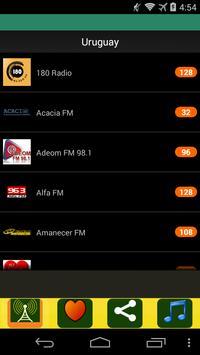 Radio Uruguay apk screenshot