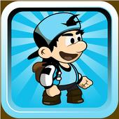 Blue hero World Adventure icon