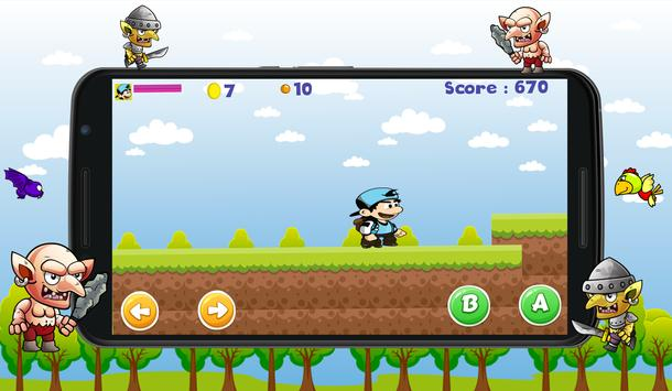 Blue hero World Adventure screenshot 1