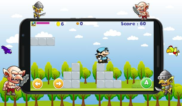 Blue hero World Adventure screenshot 5
