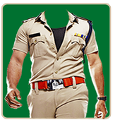 Policeman Photo Suit icon
