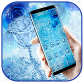 Blue Water Rose Theme icon
