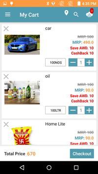 BlueZoumba Online Store app screenshot 2