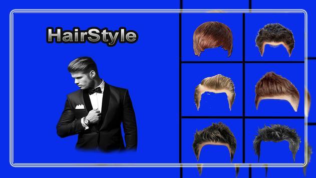 Man HairStyle Photo Editor screenshot 1