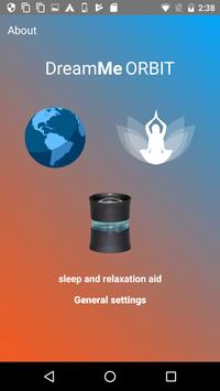 DreamMe ORBIT sleep & relaxation aid poster
