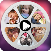 Photo Movie Maker with music icon