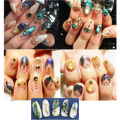 japan nail art icon