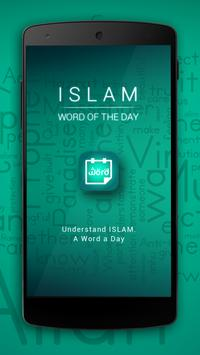 Islam | Word of the Day poster