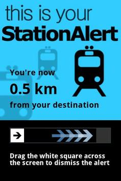 StationAlert CHENNAI poster
