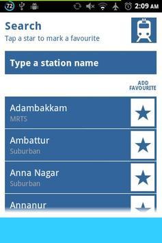 StationAlert CHENNAI screenshot 2