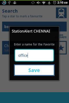 StationAlert CHENNAI screenshot 4