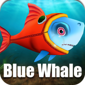 Blue Whale Suicide Shoot Game - Blue Whale Game icon
