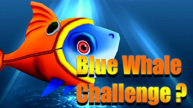 Blue Whale Suicide Shoot Game - Blue Whale Game poster