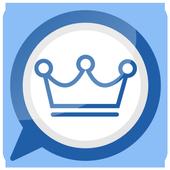 واتس اب ازرق بلس icon