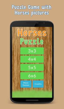 Puzzle Game - Horses, mares and foals poster