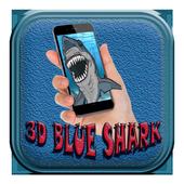 Blue Shark Attack Live Wallpaper Icon