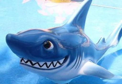 Blue Shark Attack Live Wallpaper Screenshot 2