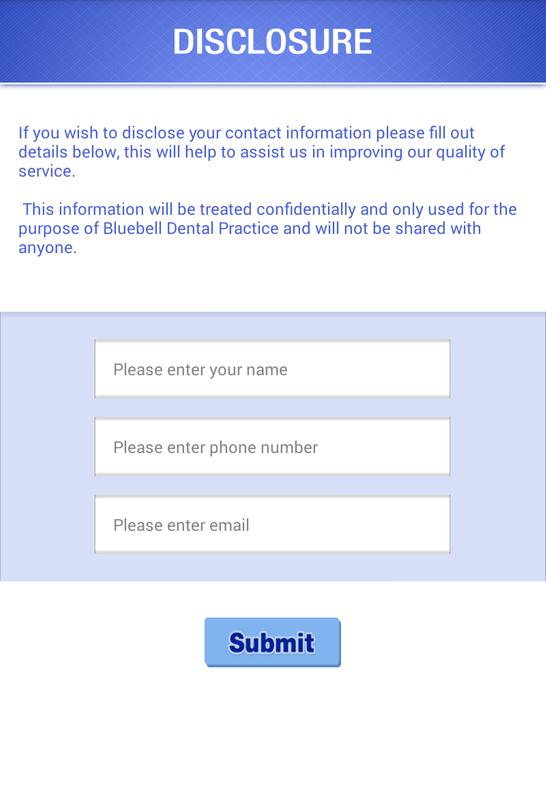 Bluebell Patient Feedback Form Apk Download  Free Business App For