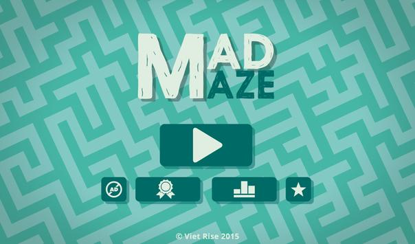Mad Maze poster