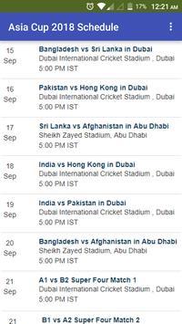 Asia Cup Update screenshot 4