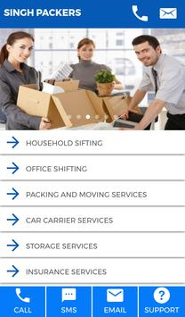 Packers And Movers Booking App screenshot 1