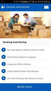 Packers And Movers Booking App screenshot 23