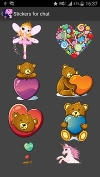 Stickers for Chat apk screenshot
