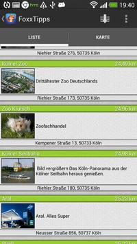 FoxxTipps - Die StädteApp apk screenshot