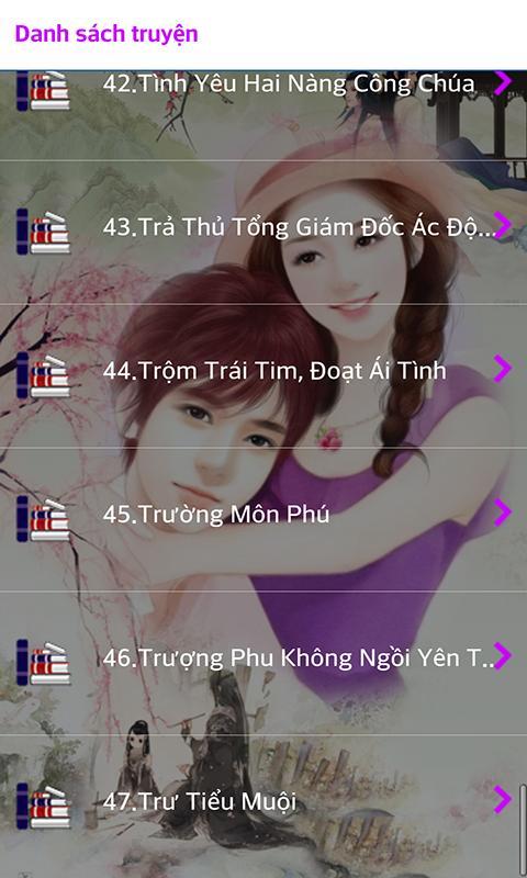 Truyện Ngôn Tình 11 - Offline poster