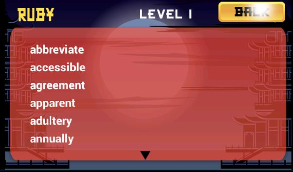 Word Ninja screenshot 7