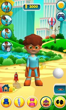 Talking Superhero Man screenshot 5