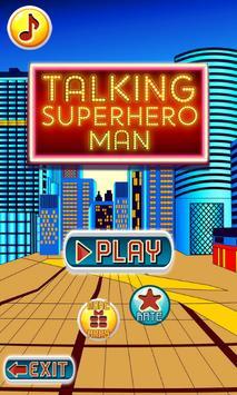 Talking Superhero Man screenshot 12