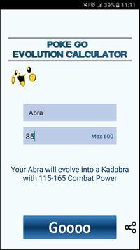 Evo Calculator for Pokemon Go apk screenshot