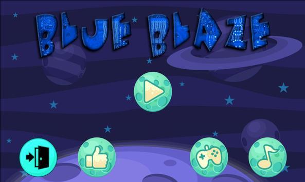 Blue Blaze poster