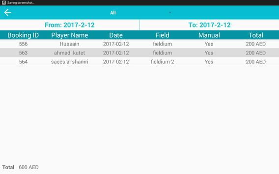 Fieldium Dashboard apk screenshot
