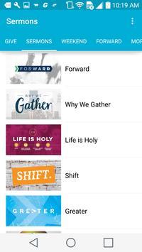 Cornerstone Fellowship App poster