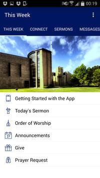 The Peace Church App poster
