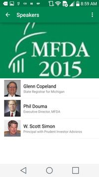 MFDA Convention screenshot 3