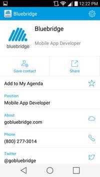 Bluebridge Events Advanced apk screenshot