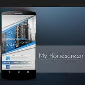 Klwp BlueClass icon