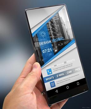 Klwp BlueClass poster