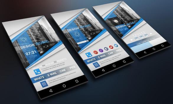 Klwp BlueClass screenshot 1