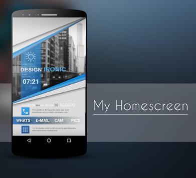 Klwp BlueClass screenshot 2