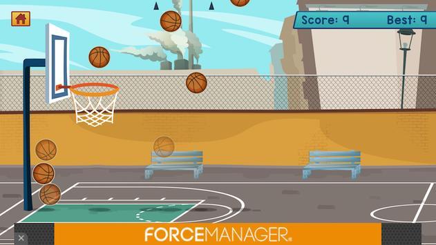 Basketball shoot target poster