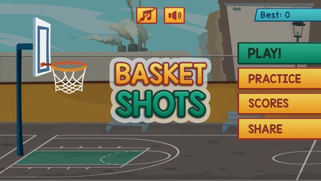 Basketball shoot target apk screenshot