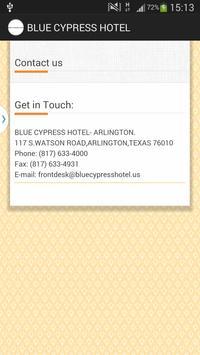 BLUE CYPRESS HOTEL - ARLINGTON apk screenshot