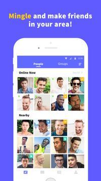 Blued Lite -- Gay Chat & Social apk screenshot