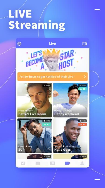 Blued - Gay Chat & Social Unduh APK untuk Android - Aptoide