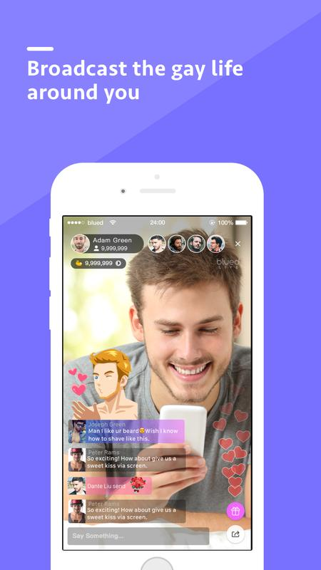 Blued - Gay Video Chat & Live Stream APK (Latest)