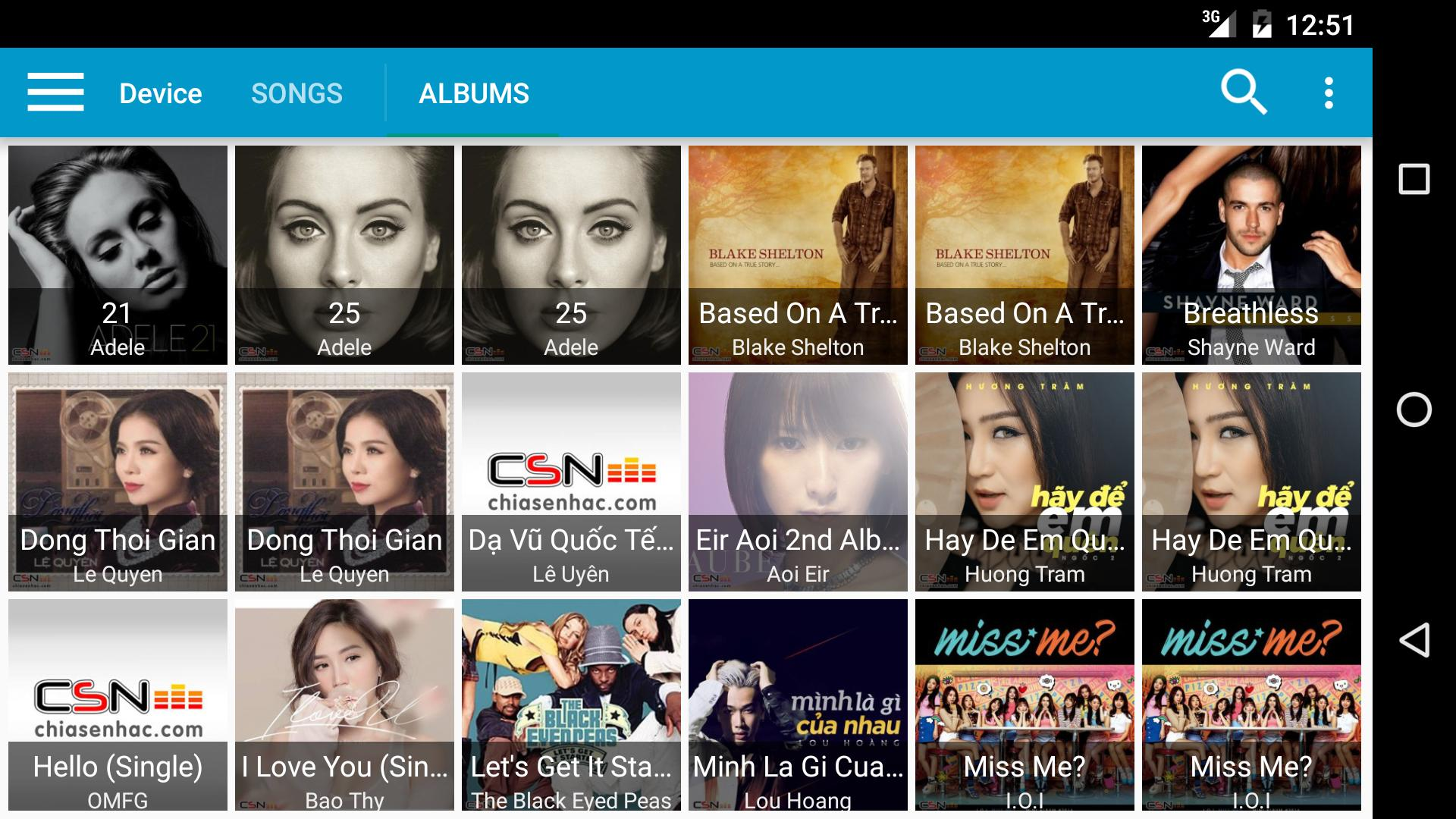 Chia Se Nhac (Lossless music) for Android - APK Download